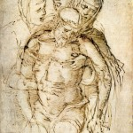 Bellini schizzo Pietà