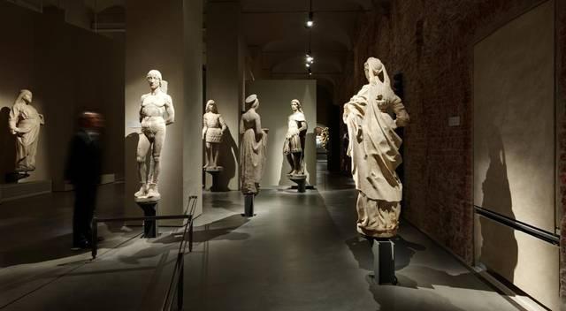 Interno museo del Duomo