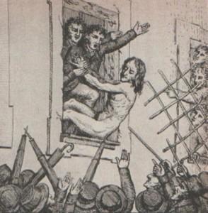 defenestrazione Ministro Prina