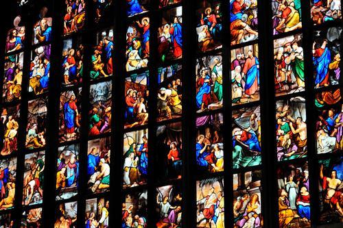 Restauro archivi scoprire milano e dintorni - Finestre circolari delle chiese gotiche ...